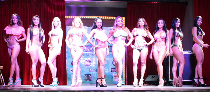 El Miss Bikini Summer 2017 en el Ocean Sun Casino Downtown