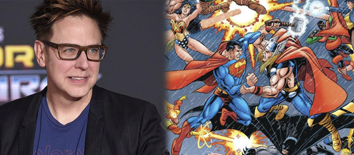 James Gunn comparte el crossover de Marvel y DC más popular de Internet